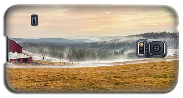 Sunrise On The Farm Galaxy S5 Case