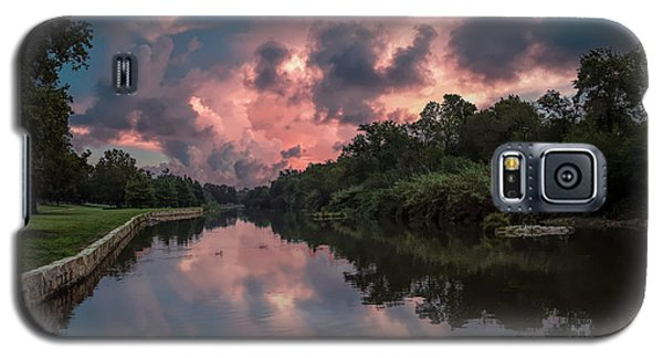 Sunrise On The River Galaxy S5 Case