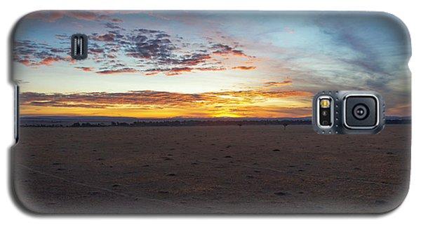 Sunrise Over The Mara Galaxy S5 Case