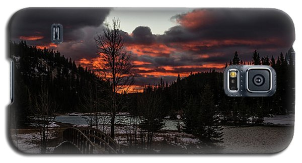 Sunrise Over Cascade Ponds, Banff National Park, Alberta, Canada Galaxy S5 Case