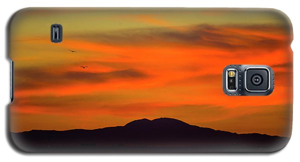 Sunrise Over Santa Monica Bay Galaxy S5 Case