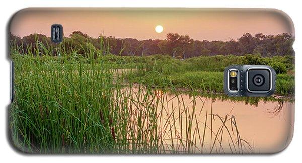 Sunrise Over The Marsh Galaxy S5 Case