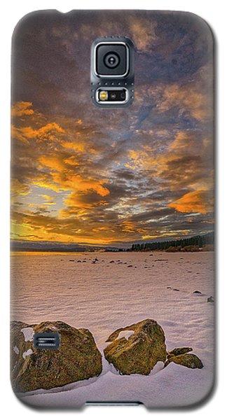 Sunrise Rocks Galaxy S5 Case