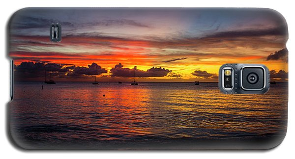 Sunset 4 No Filter Galaxy S5 Case