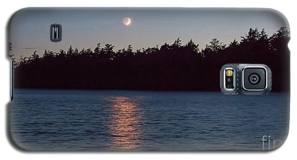 Sunset And Moonrise Galaxy S5 Case