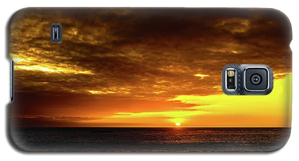 Sunset And Surf Galaxy S5 Case