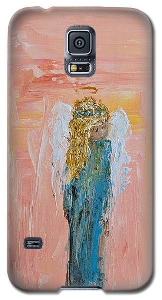 Sunset Angel Galaxy S5 Case