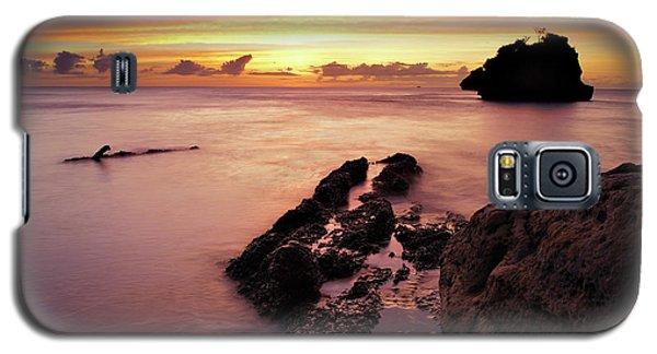 Sunset At Columbus Bay Galaxy S5 Case