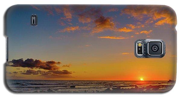 Sunset At Kailua Beach Galaxy S5 Case