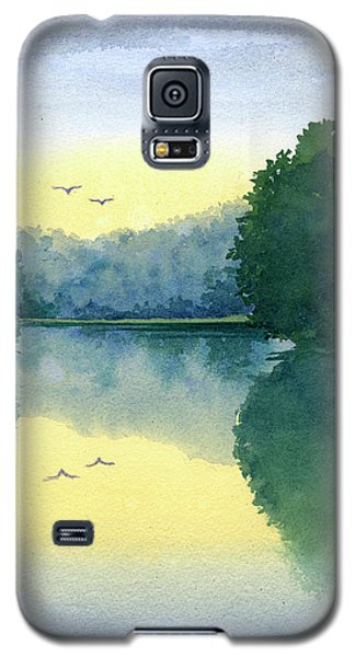 Sunset At Memorial Park Galaxy S5 Case