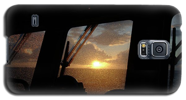 Sunset At Sea Galaxy S5 Case