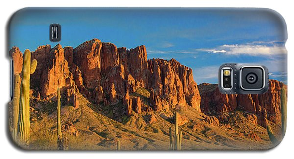 Sunset At Superstition Mountain Galaxy S5 Case