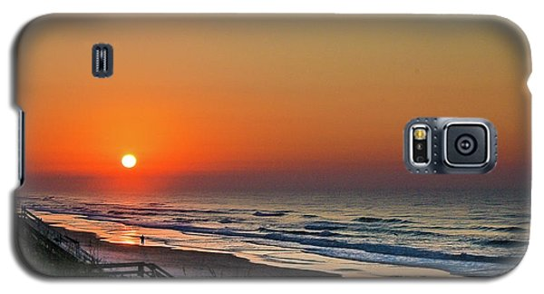 Sunset At Surf City Nc Galaxy S5 Case