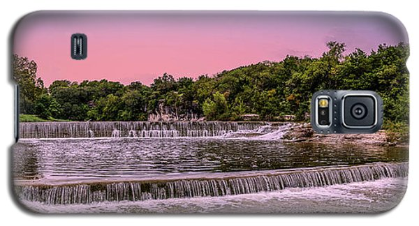 Sunset At The Falls Galaxy S5 Case