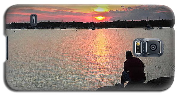 Sunset At The Park Galaxy S5 Case