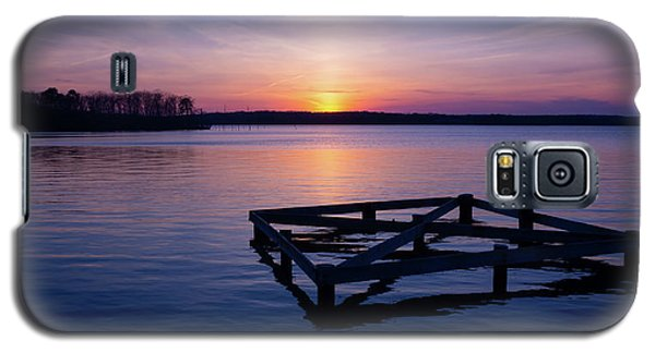Sunset At The Reservoir  Galaxy S5 Case