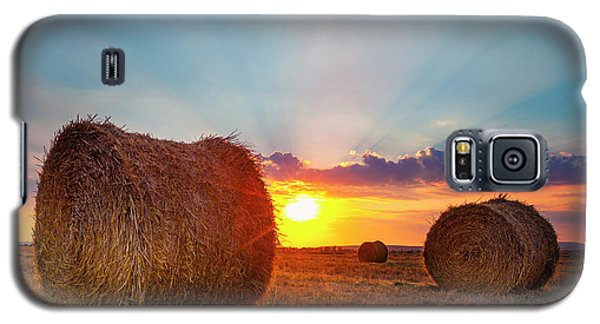Sunset Bales Galaxy S5 Case