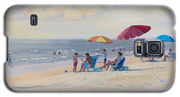 Sunset Beach Observers Galaxy S5 Case