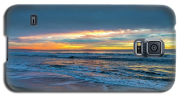 Sunset Fire Over Catalina Island 2 Galaxy S5 Case