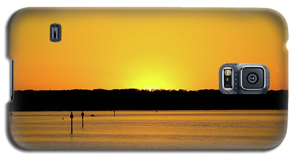 Sunset From National Harbor Galaxy S5 Case