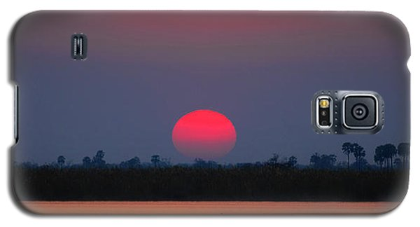 Sunset In Botswana Galaxy S5 Case