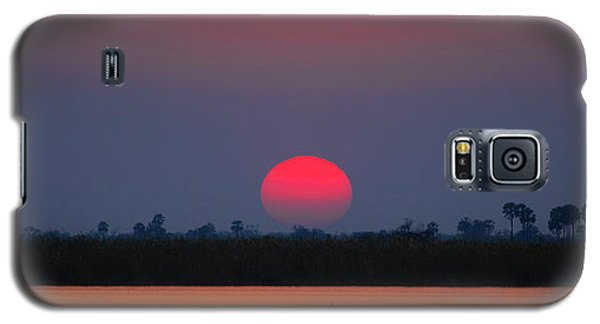 Sunset In Botswana Galaxy S5 Case