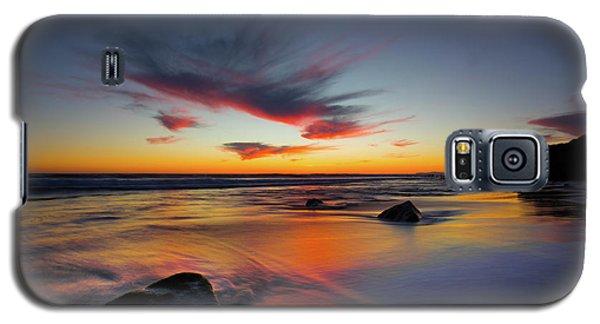 Sunset In Malibu Galaxy S5 Case