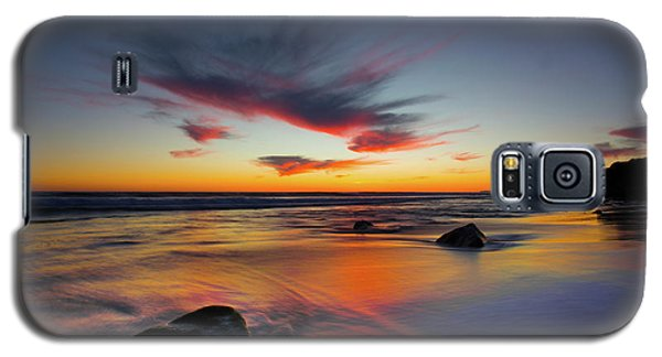 Sunset In Malibu Galaxy S5 Case