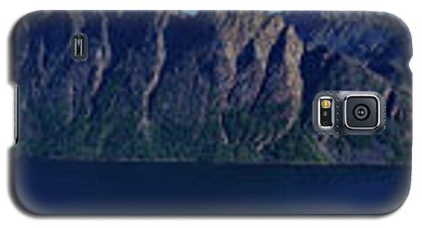 Sunset In Norway In Lofoten Island Galaxy S5 Case