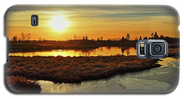 Sunset In Pitt Meadows Galaxy S5 Case
