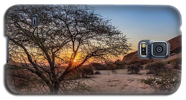 Sunset In Spitzkoppe, Namibia Galaxy S5 Case