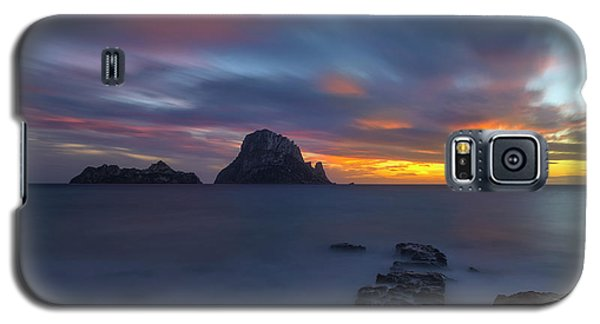 Sunset In The Mediterranean Sea With The Island Of Es Vedra Galaxy S5 Case
