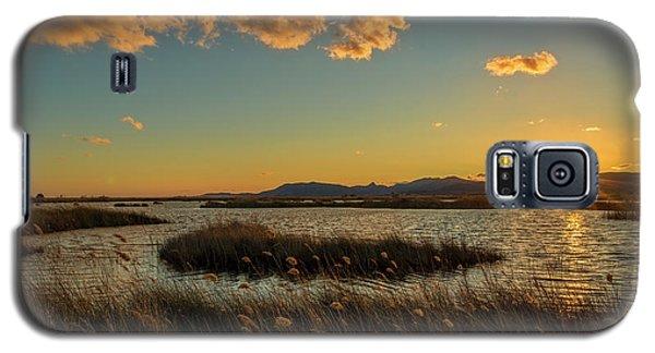 Sunset In The Natural Park Of Prat De Cabanes Galaxy S5 Case