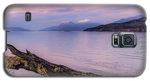 Sunset In Ushuaia Galaxy S5 Case
