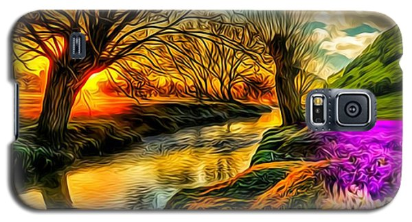 Sunset Landscape Galaxy S5 Case