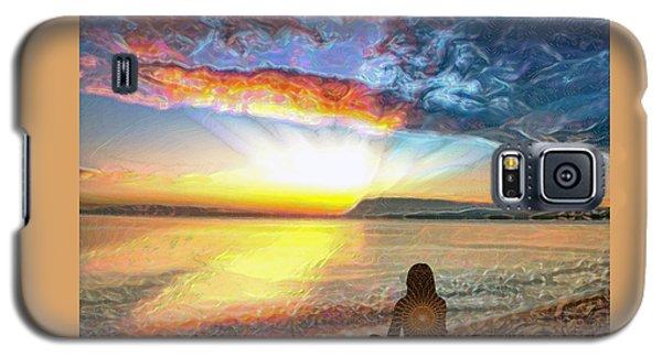 Sunset Meditation Galaxy S5 Case
