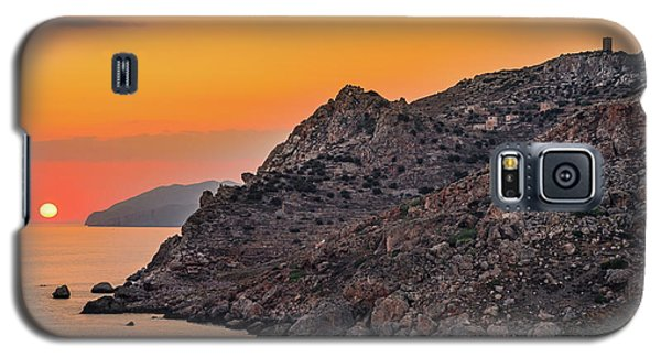 Sunset Near Cape Tainaron Galaxy S5 Case