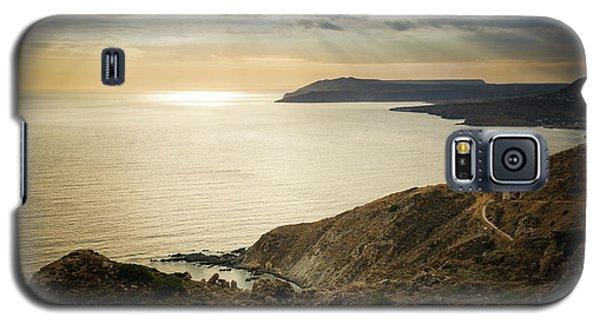 Sunset Near Tainaron Cape Galaxy S5 Case