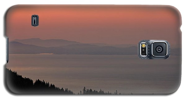 Sunset Of The Olympic Mountains Galaxy S5 Case