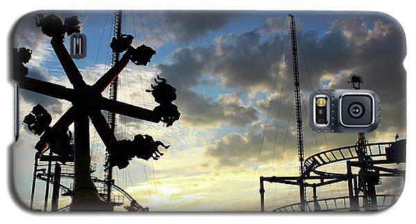 Sunset On Coney Island Galaxy S5 Case
