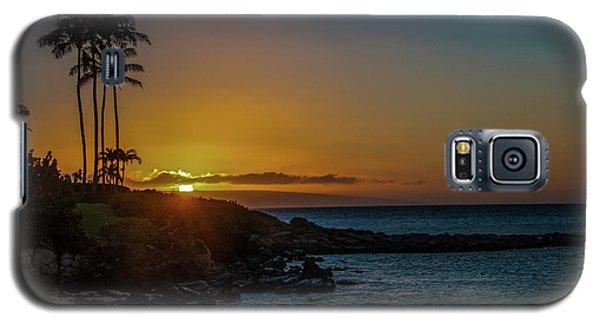 Sunset On Kapalua Galaxy S5 Case