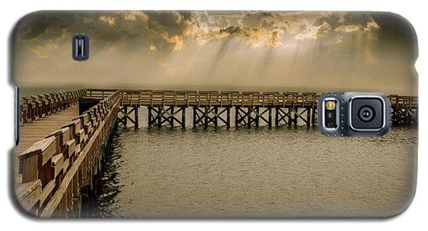 Sunset On Pier Galaxy S5 Case