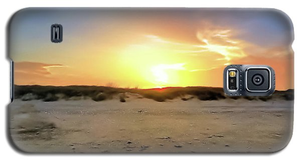 Sunset Over N Padre Island Beach Galaxy S5 Case