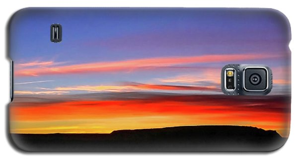 Sunset Over Navajo Lands Galaxy S5 Case