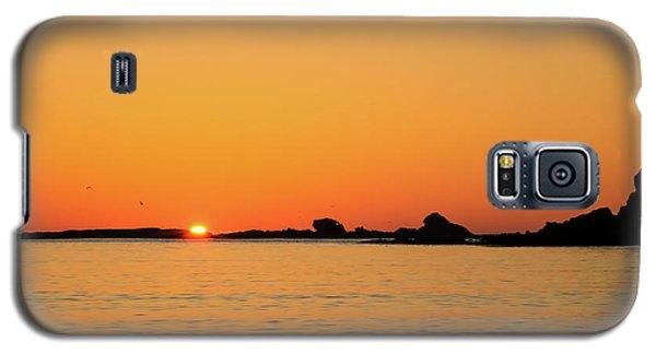 Sunset Over Sunset Bay, Oregon 4 Galaxy S5 Case