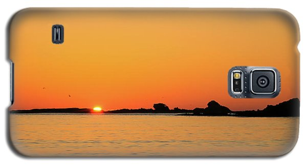 Sunset Over Sunset Bay, Oregon 4 Galaxy S5 Case