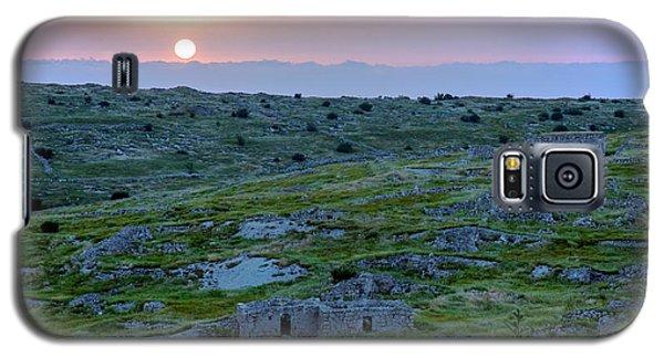Sunset Over Um A-shekef, Israel Galaxy S5 Case