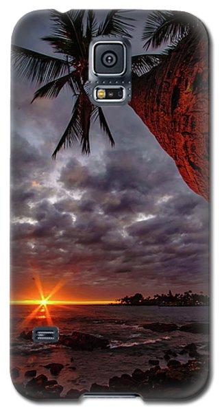 Sunset Palm Galaxy S5 Case