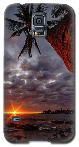 Sunset Palm Galaxy S5 Case