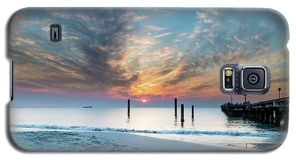Sunset Seascape And Beautiful Clouds Galaxy S5 Case